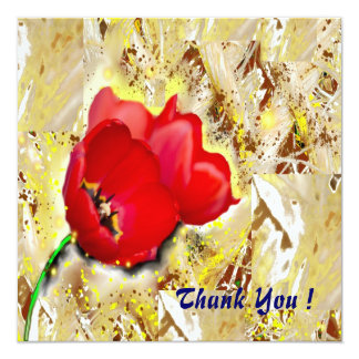 Floral - Tulips ! Card