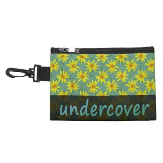 Floral Undercover Yellow Flowers on any Color