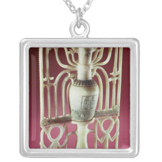 Floral unguent jar, from the Tomb of Silver Plated Necklace