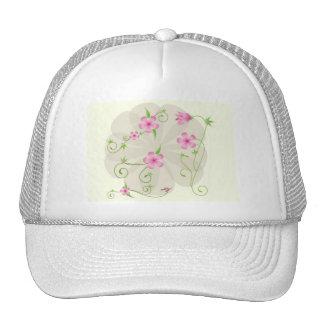 floral-vector-arts-10118-large trucker hat