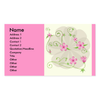 floral-vector-arts-10118-large, Name, Address 1... Business Card