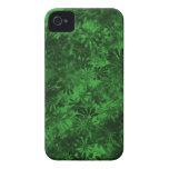 Floral verde Case-Mate iPhone 4 fundas