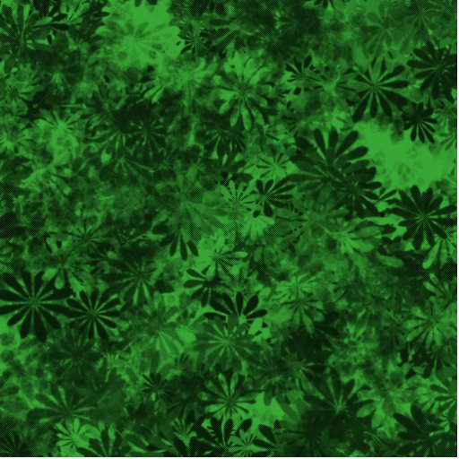 Floral verde escultura fotografica