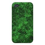 Floral verde iPhone 4 coberturas