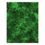 Floral verde tarjetón