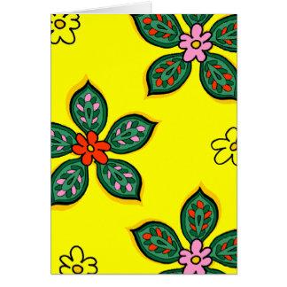 Floral Verdure Petite Card