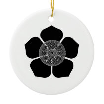 Floral Vibe Ceramic Ornament