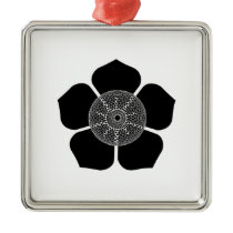 Floral Vibe Metal Ornament