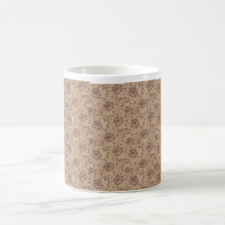 Floral Vine Pattern Mug