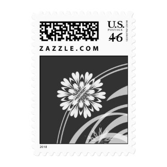 Floral Vine Postage stamp