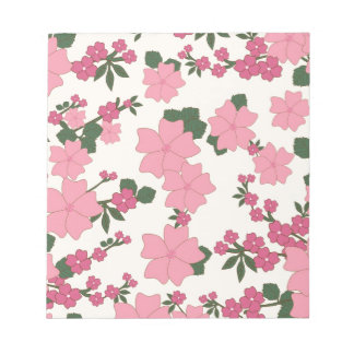 floral vintage flowers wallpaper background memo notepads