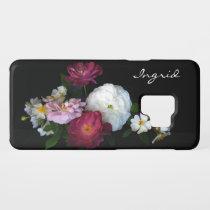 Floral Vintage Rose Flowers Galaxy S9 Case