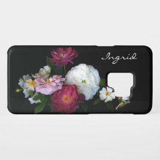 Floral Vintage Rose Flowers Galaxy S9 Case