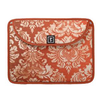 Floral vintage wallpaper background sleeve for MacBook pro