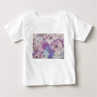 Floral Vintage Wallpaper Pattern Baby T-Shirt
