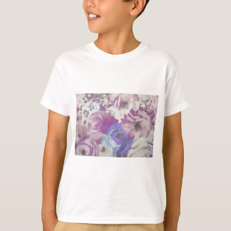 Floral Vintage Wallpaper Pattern T-Shirt