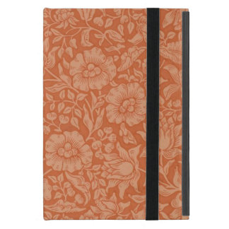 Floral Vintage Wallpaper William Morris Red Patter iPad Mini Covers