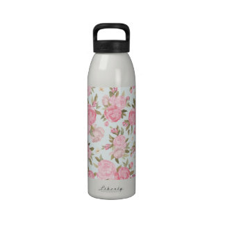 Floral Vintage Reusable Water Bottles
