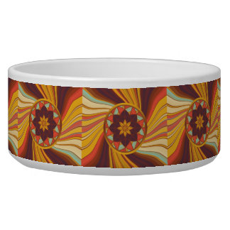 Floral vortex bowl