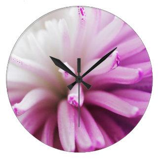 Floral Wall Clocks Spider Mum