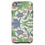 Floral wallpaper design tough iPhone 6 case