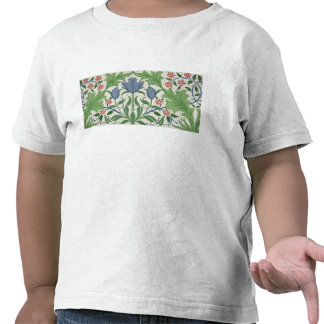 Floral wallpaper design tshirt