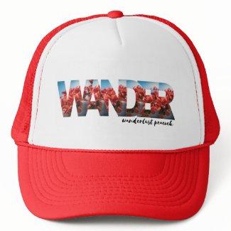 Floral WANDER Trucker Hat