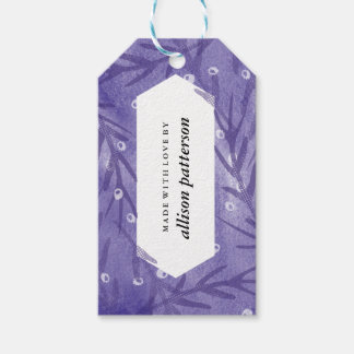 Floral Watercolor Gift Tag Pack Of Gift Tags