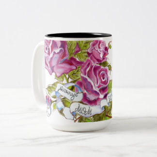 Floral Watercolor Mother's Day Mug
