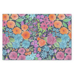 Floral watercolor pattern tissue paper