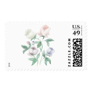 Floral Watercolor Stamp