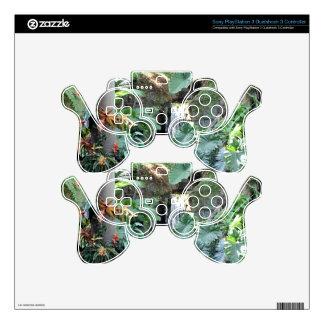 Floral Waterfall PS3 Controller Skin