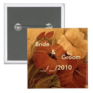 FLORAL WEDDING PIN