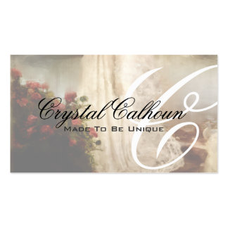 Floral Wedding, Fantasy or Fairytale Card Double-Sided Standard Business Cards (Pack Of 100)