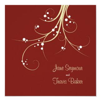 Floral Wedding Invitation - Elegant & Simple