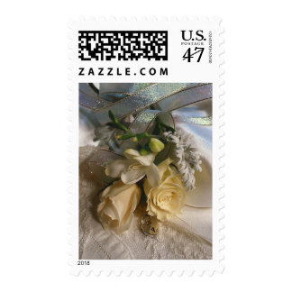 Floral Wedding Invitations Save The Date RSVP Postage Stamp