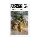 Floral Wedding Invitations Stamps