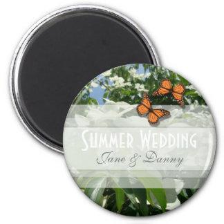 Floral Wedding Magnet