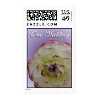 Floral Wedding Medium Postage