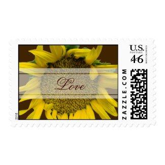 Floral Wedding Postage stamp