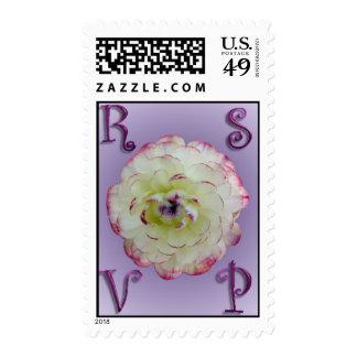 Floral Wedding RSVP Medium Postage