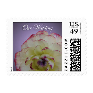 Floral Wedding Small Postage