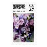 Floral Wedding Stamps