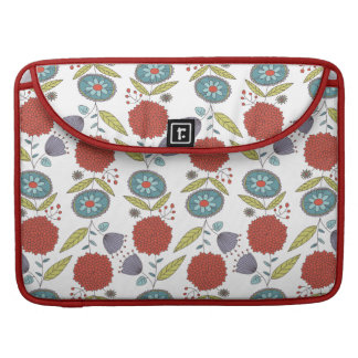 Floral Whimsy MacBook Pro Sleeve