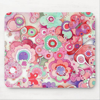 Floral Whimsy Mousepad