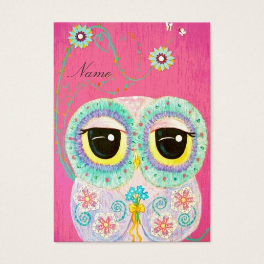 Floral Wishes Business Card