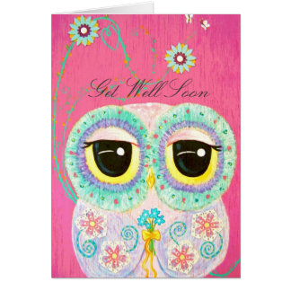 Floral Wishes - Get Well Card