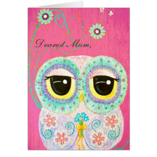 Floral Wishes Happy Mother s Day Card