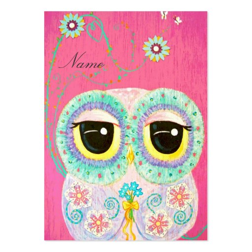 Floral Wishes Large Business Cards (Pack Of 100)