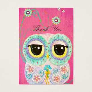 Floral Wishes - Thank You Gift Tag